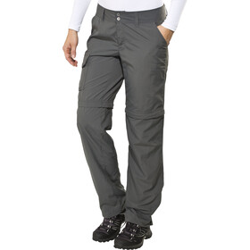 Columbia Silver Ridge Pantalones convertibles Normal Mujer, grill